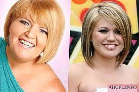 حلاقة الشعر للنساء ذقن مزدوجة لأشكال الوجه المختلفة أسلوب