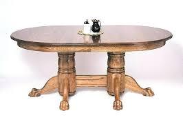 table pedestal base only dining unfinished wood pedestal dining table base