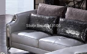 lbz 3077 silver furniture home corner sofa living room leather sofas in living room sofas from furniture on aliexpress com alibaba group