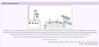 Xkcd 285 Is Wikipedias Featured Picture Today Xkcd