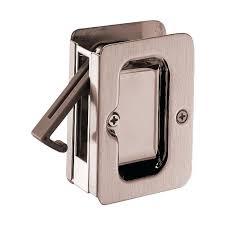 modern pocket door hardware. Pocket Door Hardware 9w10310 01 Welcome Home Square Bed Bath Doorlock Modern E