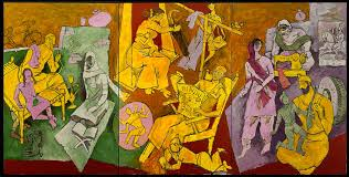 m f husain indian households 2008 2016 courtesy of usha mittal victoria