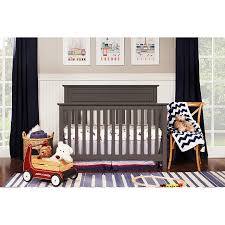 Gray baby furniture Davinci Slate Gray Classic 4in1 Convertible Crib Autumn Carousel Designs Rc Willey Sells Baby Cribs And Furniture For Your Nursery