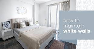 white walls white