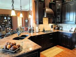U003cinput Typehidden Prepossessing Dark Kitchen Cabinets With Light