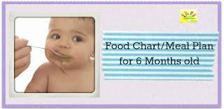 food chart for 6 month old indian baby. 6 month baby food chart / indian chart/meal plan months old for r