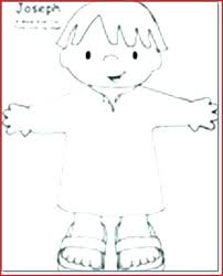 Joseph And The Coat Of Many Colors Coloring Page Coat Coloring Page