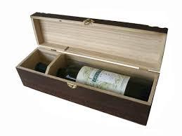 wooden wine boxes wb117 size 4x4x14 hinged lid paulownia mahogany