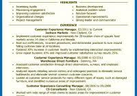 customer experience manager resume skills retail customer experience manager retail simple