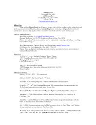 Makeup Resume Examples 24 Makeup Artist Resume Examples Sample Resumes Sample Resumes 2