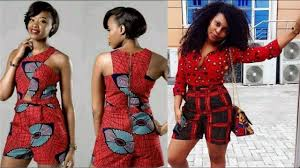 Ankara Shorts Designs For Ladies Pin On Fashion African Fashion