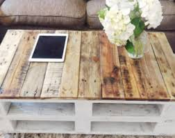 Coffee Table  Pallet Project Coffee Table Pallet Coffee Table Pallet Coffee Table Etsy