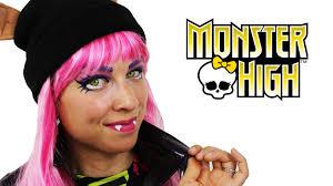monster high howleen refrence howleen wolf monster high makeup tutorial