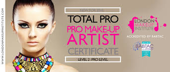 accredited make up courses