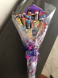 No pressure or anything, but valentine's day is pretty much right around the corner—are you ready with the perfect present for your partner? 60 Diy Valentine S Day Gift Baskets Bouquets For Him Ethinify Candy Bouquet Diy Candy Bouquet Valentine S Day Gift Baskets