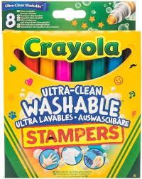 Купить набор мини-штампов <b>Crayola Супер чисто</b> 8 шт, цены в ...