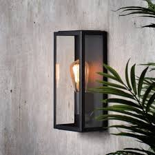 Box Lantern Light Nomad Glass Box Lantern