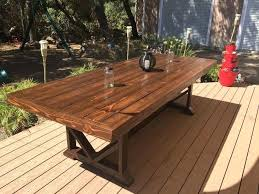 wooden outdoor table plans. Outdoor Dining Table Exquisite Ideas Wood Sensational Design Tables Wooden Plans