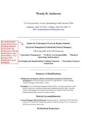 Coordinator Objective Resume Executive Profile How Many Free