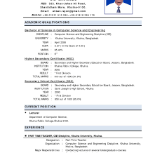 Undergraduate Resume Template Awesome Undergraduate Sample Resume Template Shocking Format Curriculum