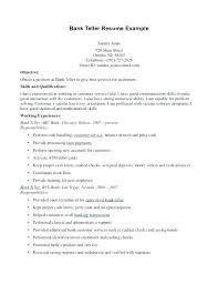 Banking Resume Objective Statement resume Banking Resume Objective Statement Work For Bank Teller 2