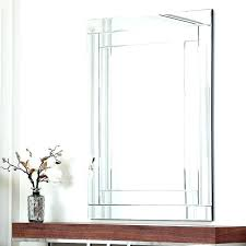 no frame mirror unframed wall mirrors mirrors awesome wall mirror no frame how to decorate a mirror with no frame wall mirrors decorating unframed wall