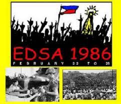 「Edsa Revolution, 1986」の画像検索結果