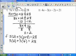 solving multi step equations and inequalities with speaking