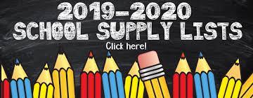 Image result for school supply list banner