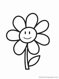 Small Picture Big Flower Coloring Pages Coloring Pages