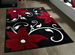 interior red white black rug and area rugs brown gray expert astonishing 7 red
