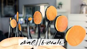 oval makeup brushes mei you