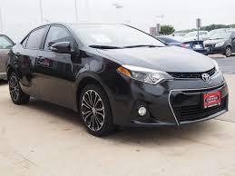 toyota corolla 2014 black. Exellent Toyota 2014 Black Sand Pearl Toyota Corolla With A