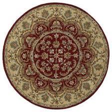 tara leonardo burdy 10 ft x 10 ft round area rug