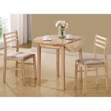 3 piece table set. Coaster Company 3-Piece Breakfast Table Set, Natural 3 Piece Set M