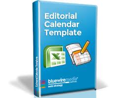 Editorial Calendar Template 2017