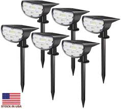 Led Solar Garden Spot Lights 2019 Dynasty Led Solar Lawn Lamp Outdoor Spot Light Landscape Spike Lights Super Bright Villas Courtyard Garden Park Tree Decoration Free Ship From