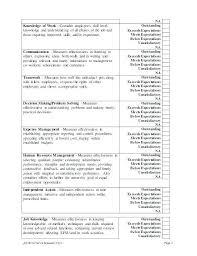 Sample Interview Evaluation Comments   Nfcnbarroom.com