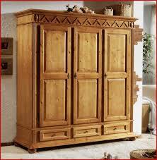 Kleiderschrank Holz Massiv 330678 Kleiderschrank Schrank