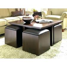 storage cocktail ottoman medium size of coffee table gray leather round adjustable height glass top with