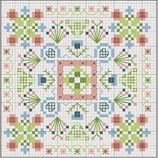 Free Biscornu Charts Biscornu Chart Cross Stich Cross Stitch Patterns Cross