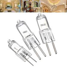 50 W 12v Light Bulb G4 5w 35w 50w Bi Pin Light Bulb Replacement Halogen Lamp Warm White 12v