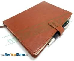 personalized diary with lock and key magnet a 5 leather journal