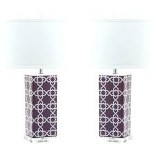 purple table lamp s ikea clear glass lamps shades uk