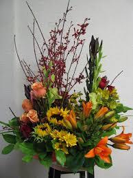 Basket Flower Decoration Fall Flower Arrangements In Baskets Flowers Ideas