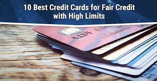 Best overall credit cards for gas rewards. 10 Best Credit Cards For Fair Credit With High Limits 2021