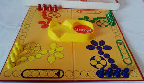 Wooden Sorry Board Game BOARD GAME BY WADDINGTONS 100 CLASSIC CHILDRENS GAME OF 99