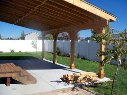 best covered patios images on patio designs a budget12 budget