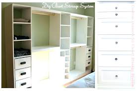 building a closet organizer with drawers plans built in cabinets diy shelves and rods t
