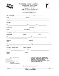 Wedding Contract Wedding Contract 2
